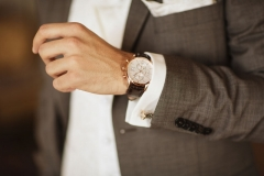Kostym från Tailor Konfektion. Klocka från Gant