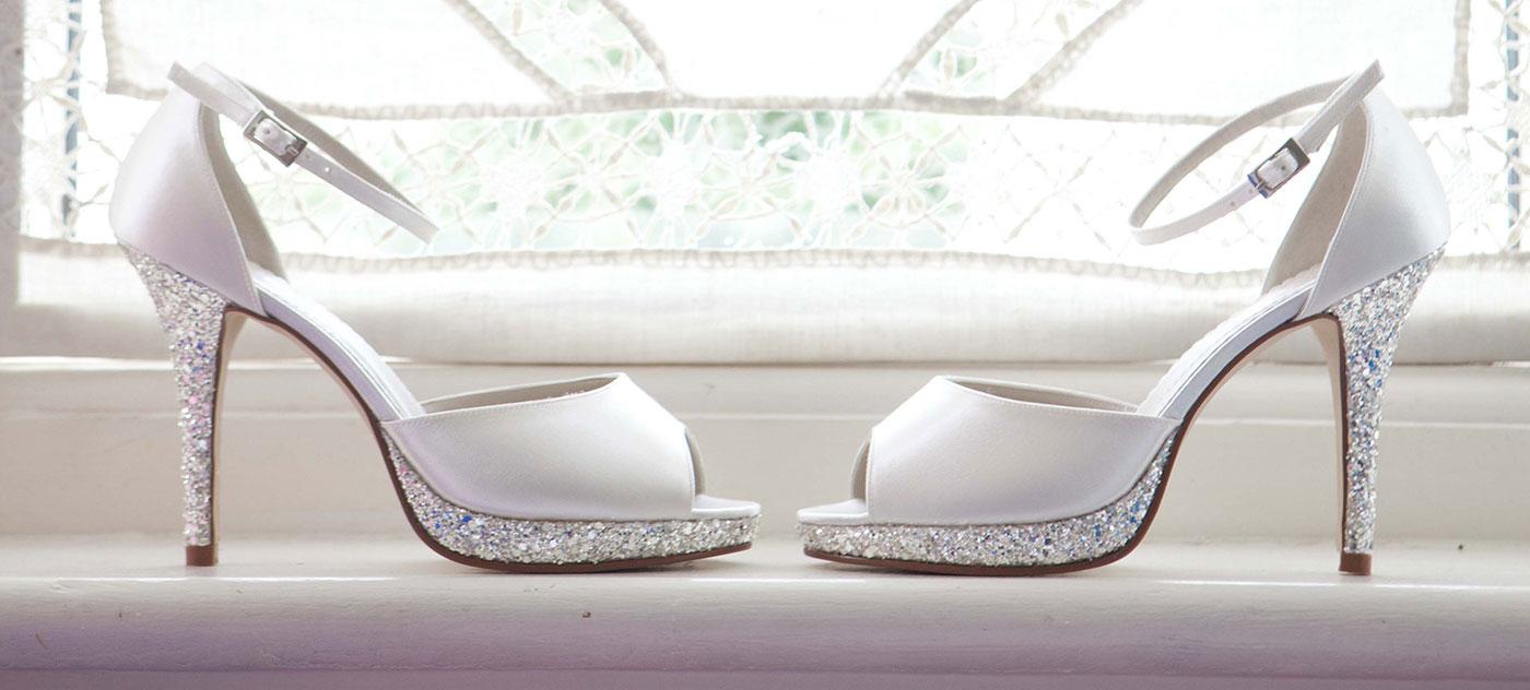 skor bröllop dam