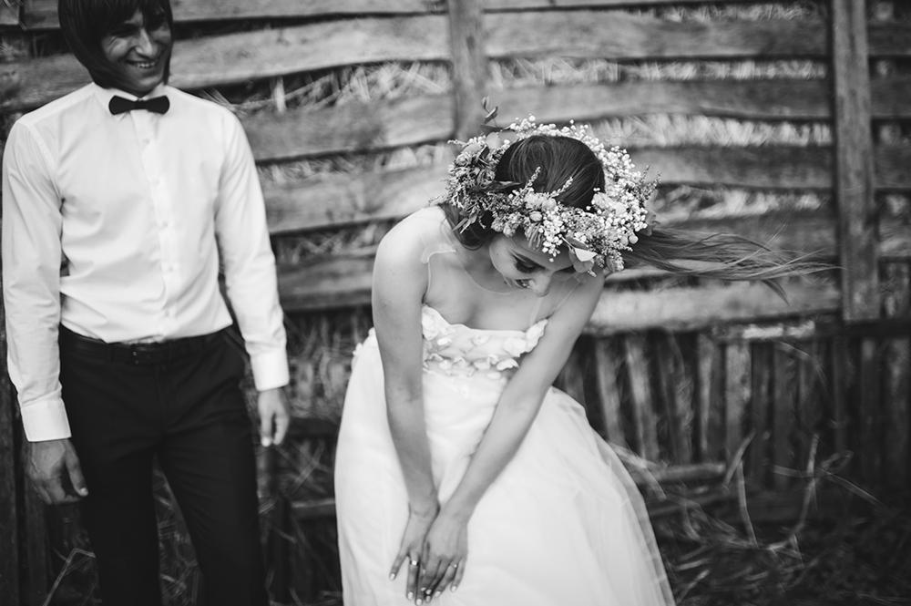 brudklänning, brudgumm