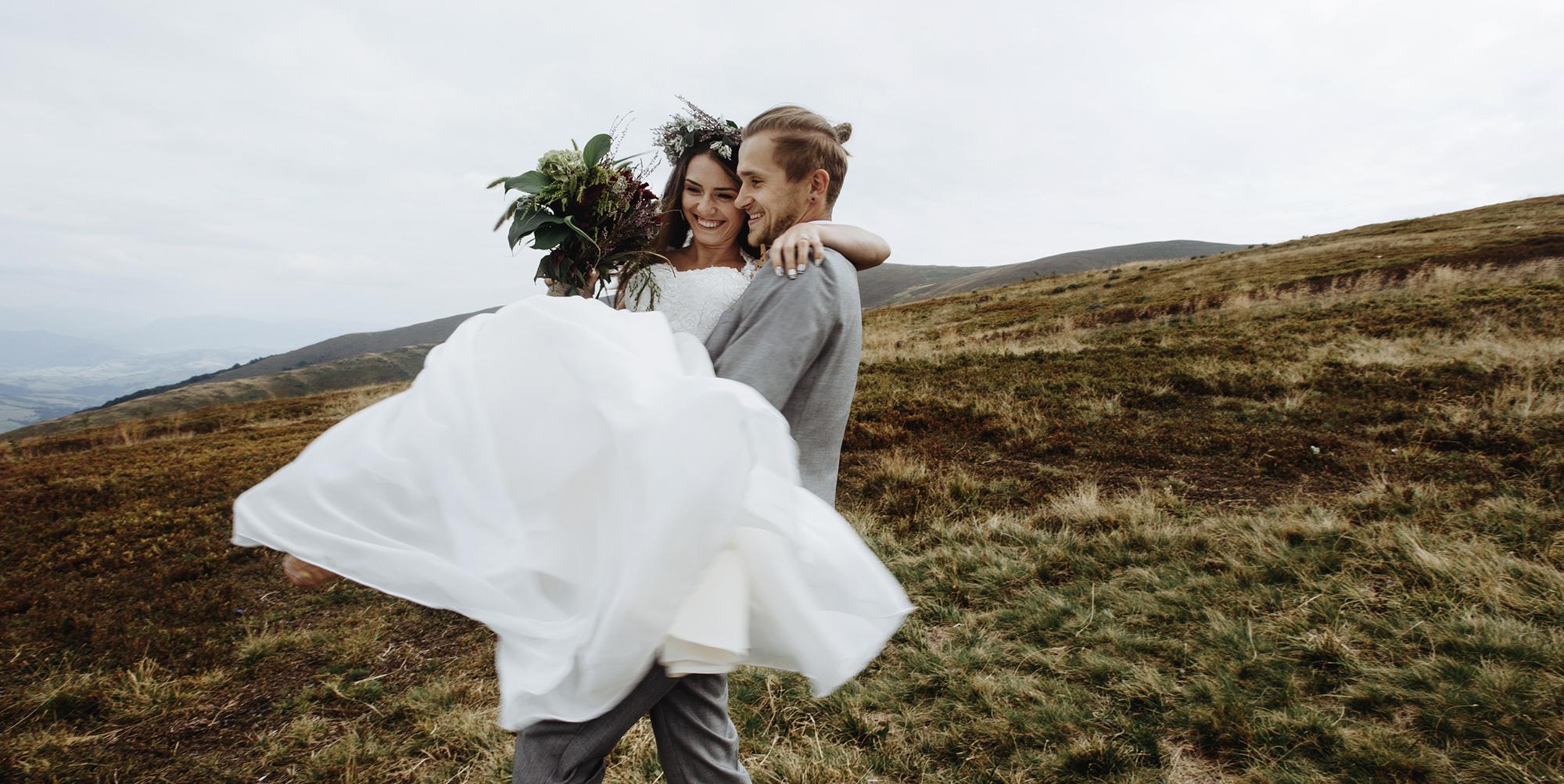Brudklänning brudgum