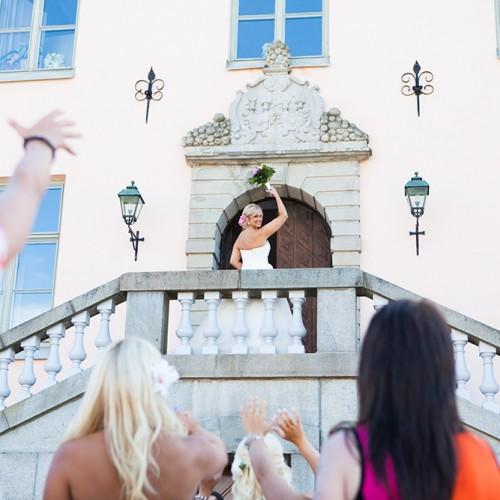 Brud på trappan