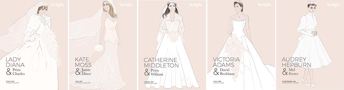 Vi har enklare bröllopsklänningar till strandbröllop och