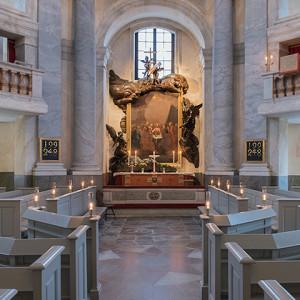 Drottningholms slottskapell - Foto: Lisa Raihle Rehbäck