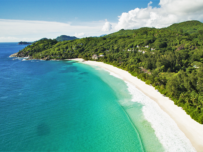 Bröllop på Seychellerna