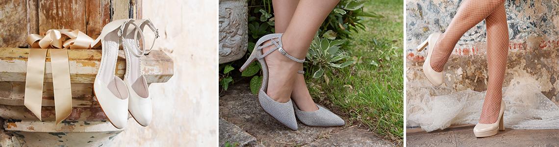 skor till bröllop dam