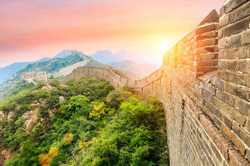Kinesiska muren - Kina