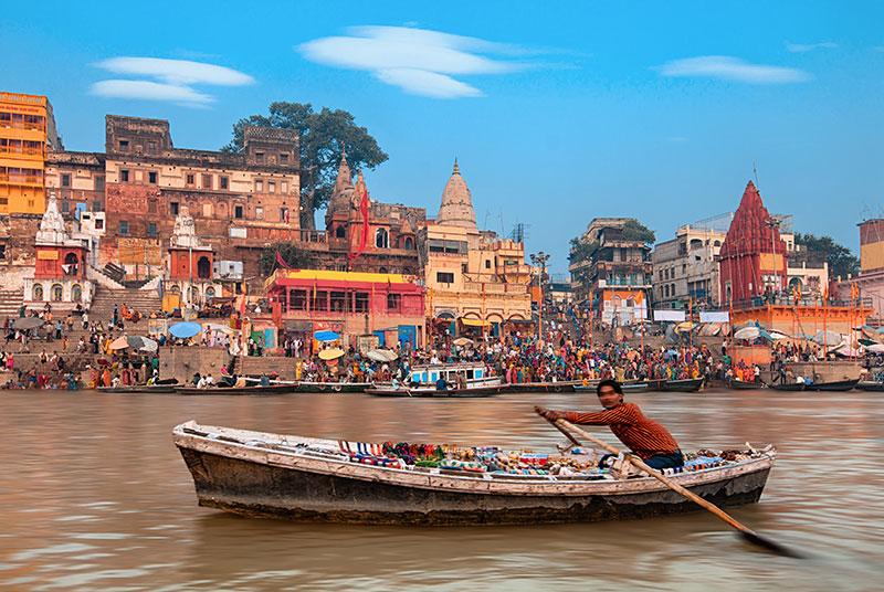 Varanasi, Ganges - Indien