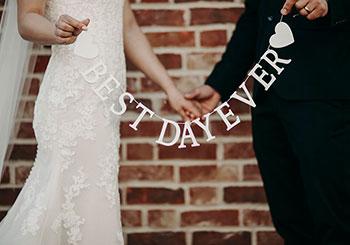 Bröllopsdekorationer bli inspirerad