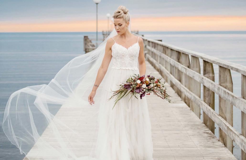 Vackra brudklänningar