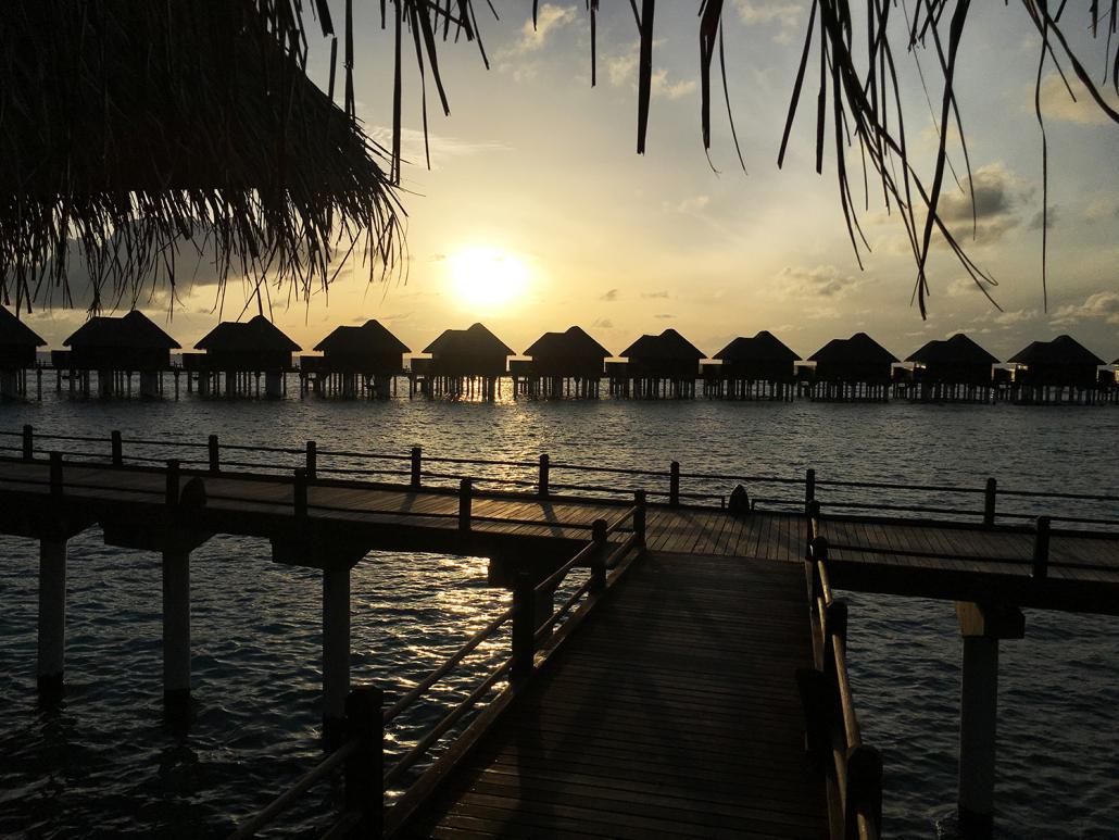 Bröllopsresa till Maldiverna