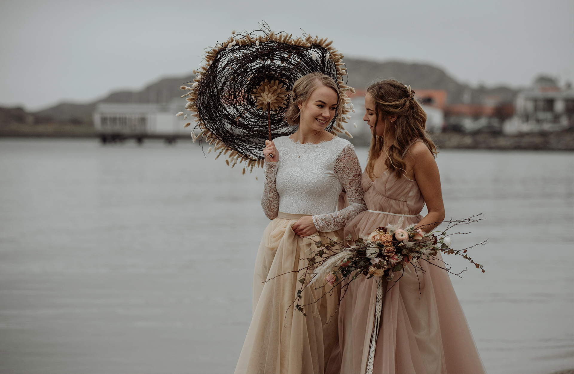 Bröllop på Gullmarsstrand