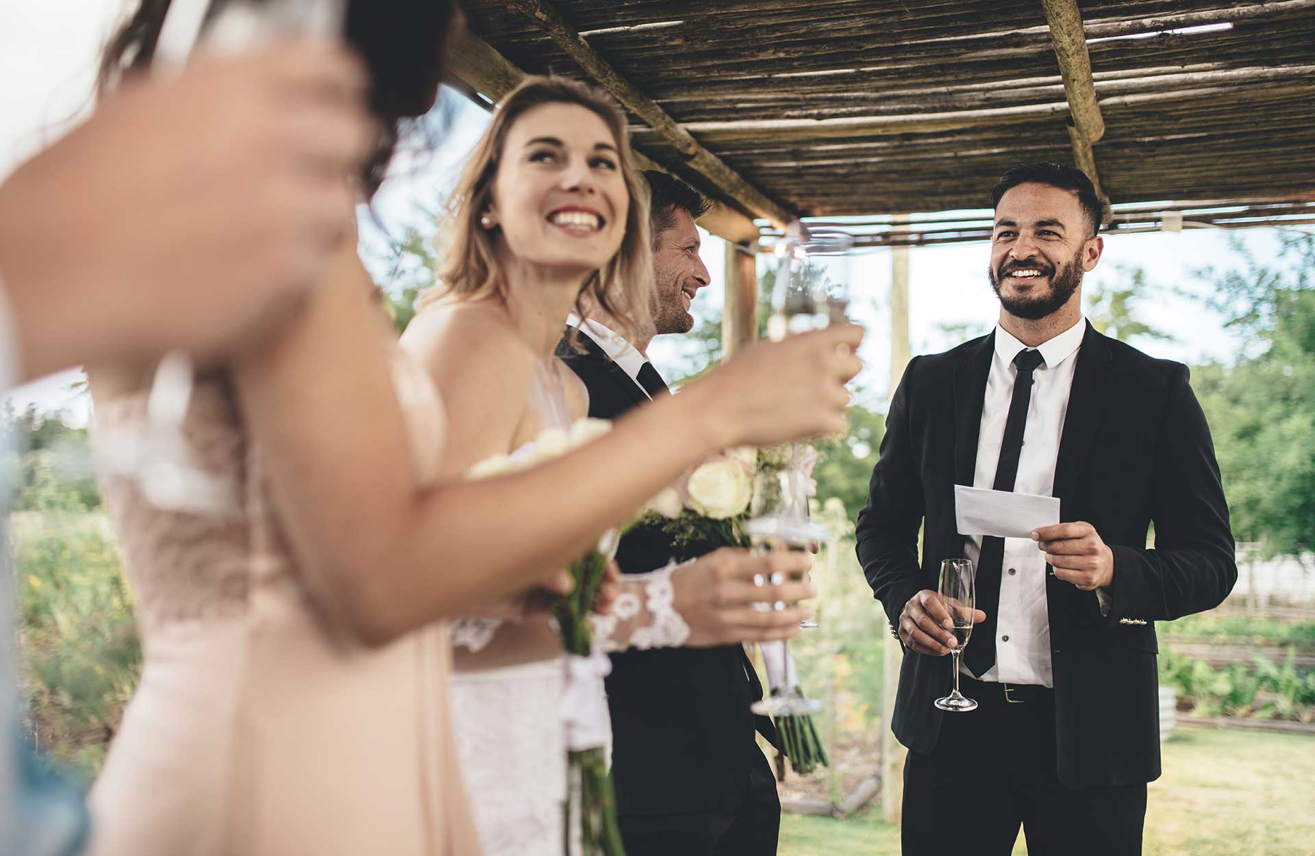 Bröllopsfest toastmaster