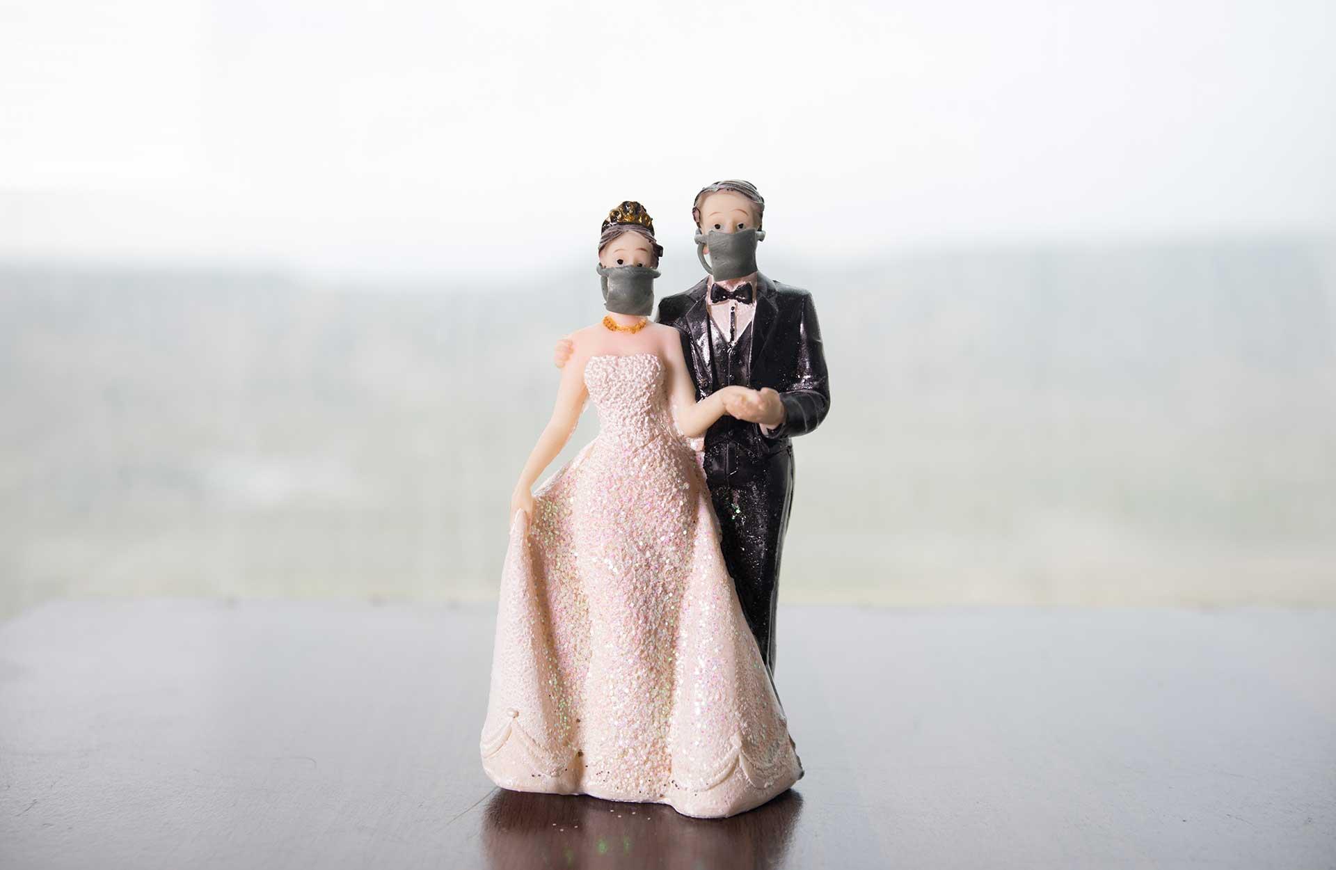 Har ditt bröllop påverkats av Corona? undersökning