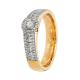 Guldfynd vigselring förlovningsring