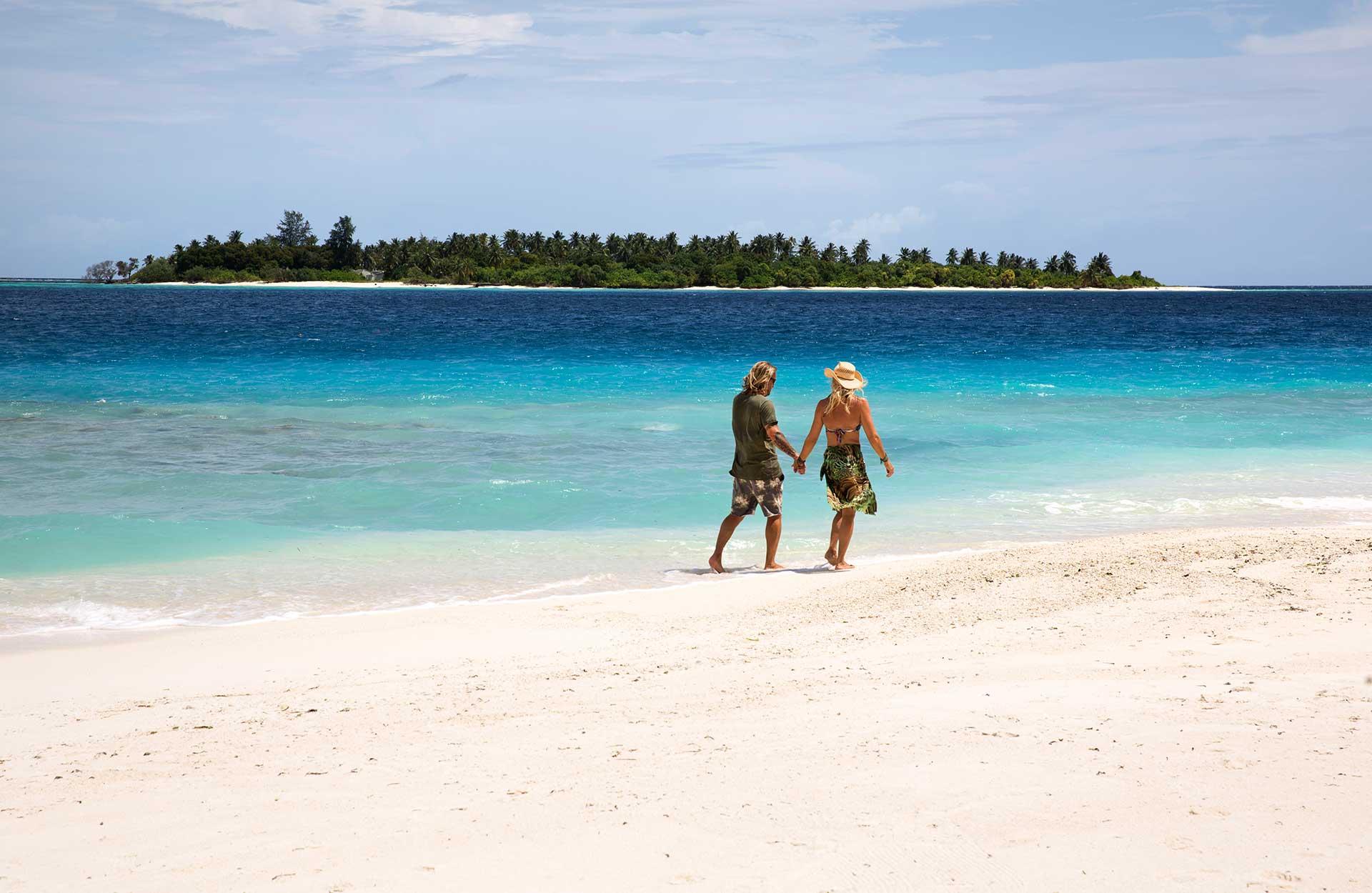 Maldiverna - SIx Senses